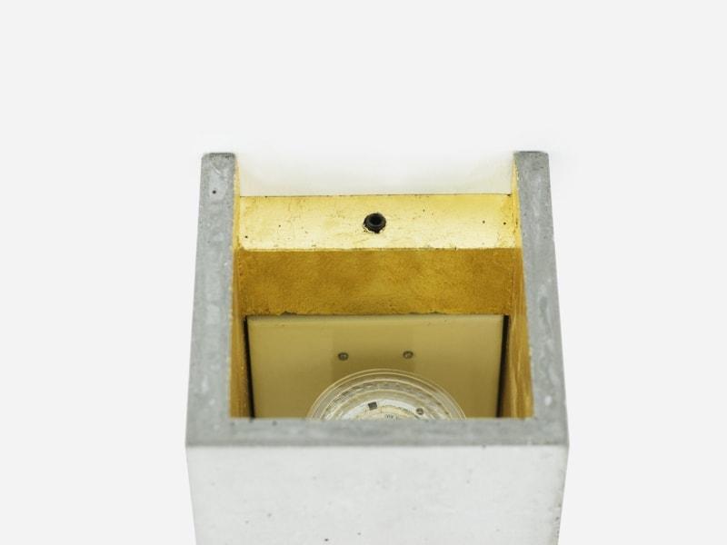products 171108 B8 Beton Gold Wandlampe detail von oben