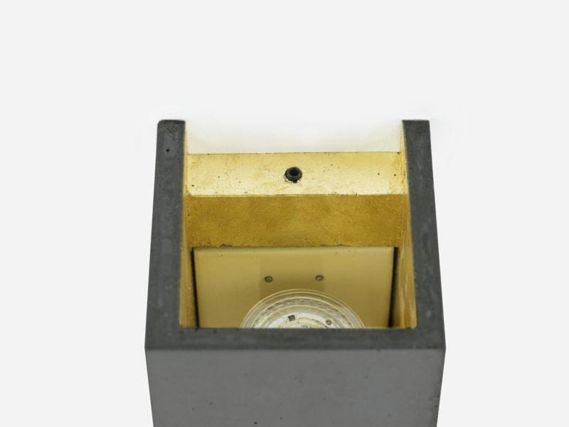 products 171108 B8dark Beton Gold Wandlampe detail von oben