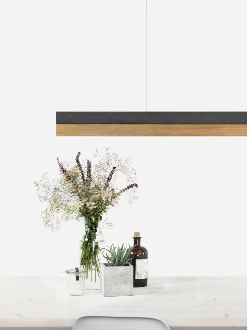 products 200917 C1 Beton dunkel eiche Lampe Detail Vorschaubild