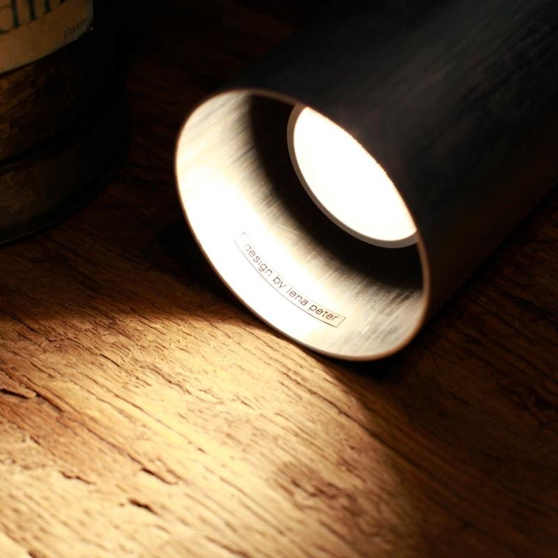 lampe fireglight silber feuerloescher bodenlampe metall