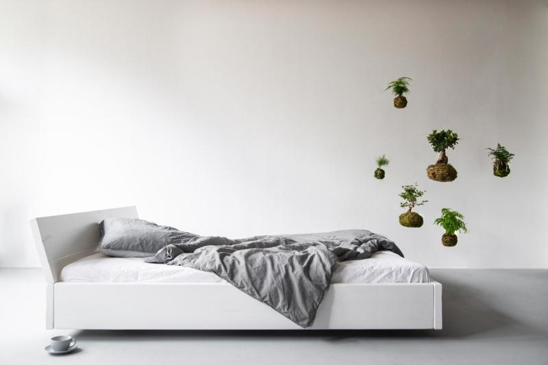 Lussan Bett weiß deckend Kopfteil 01