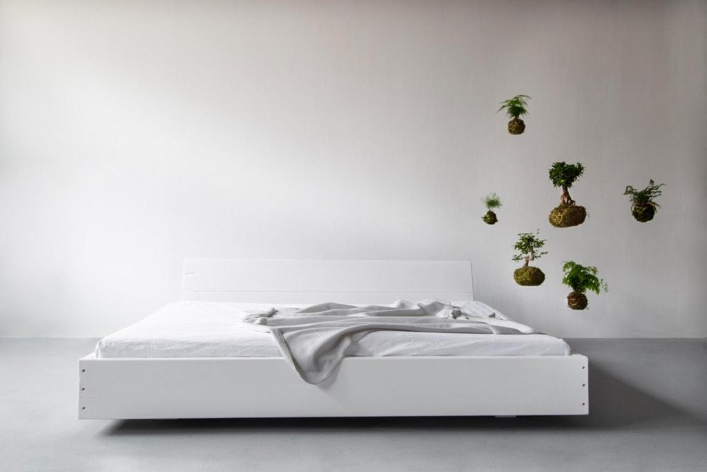 Lussan Bett weiß deckend Kopfteil 03