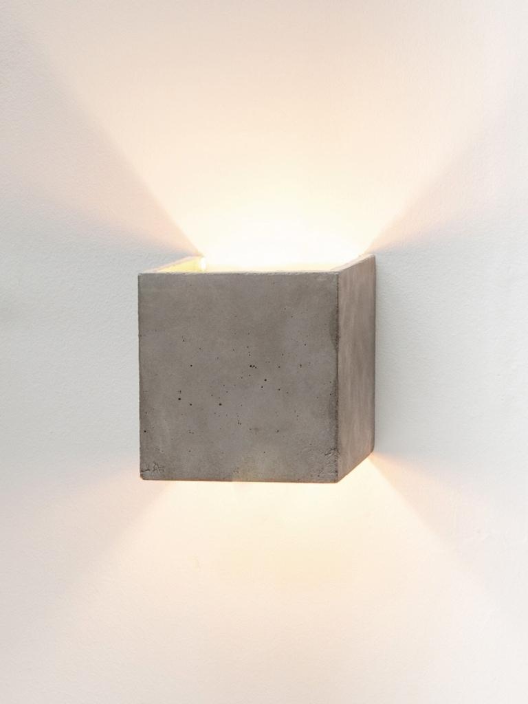 b3 wandlampe quadratisch beton gold 06