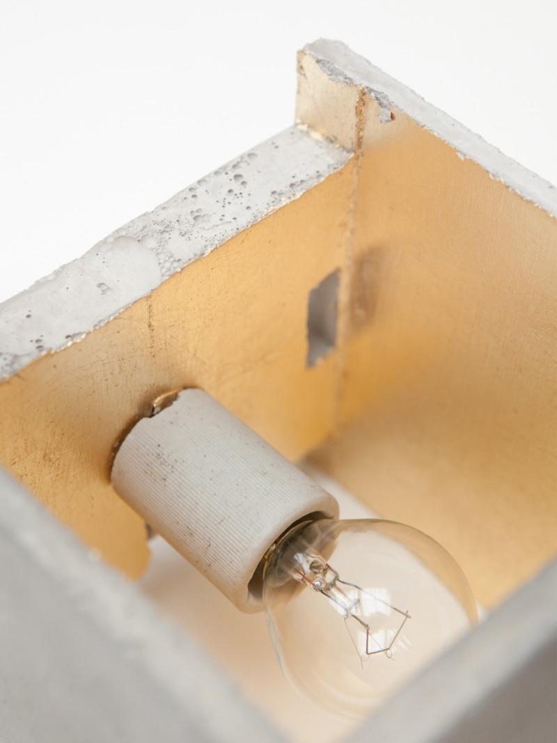 b3 wandlampe quadratisch beton gold 07