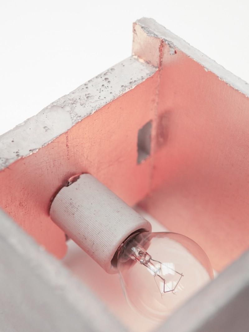 b3 wandlampe quadratisch beton kupfer 08