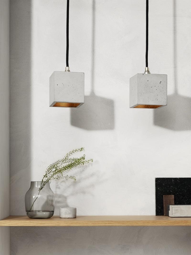 b6 haengelampe quadratisch klein beton gold 00