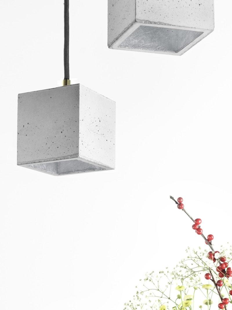 b6 haengelampe quadratisch klein beton silber 11