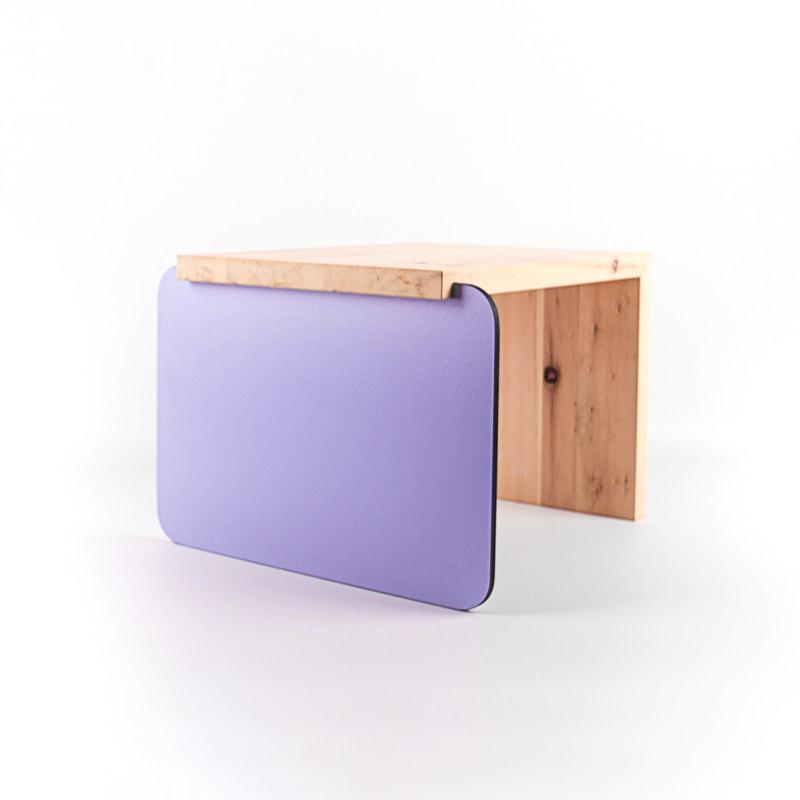 no2 4 beistelltisch zirbelkiefer violett