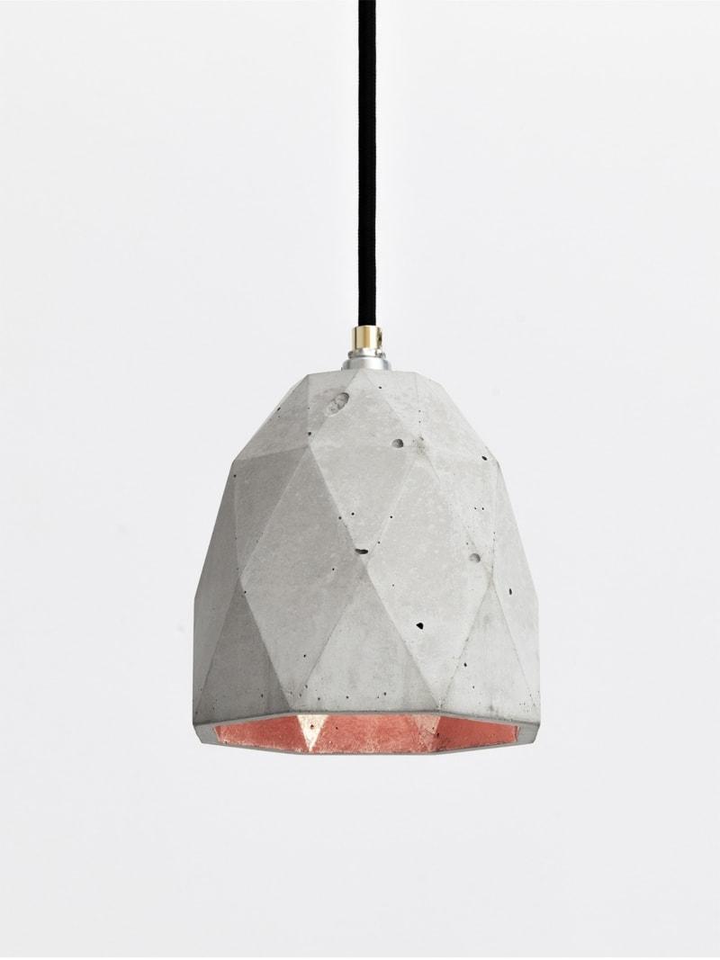t1 haengelampe trianguliert beton kupfer 12