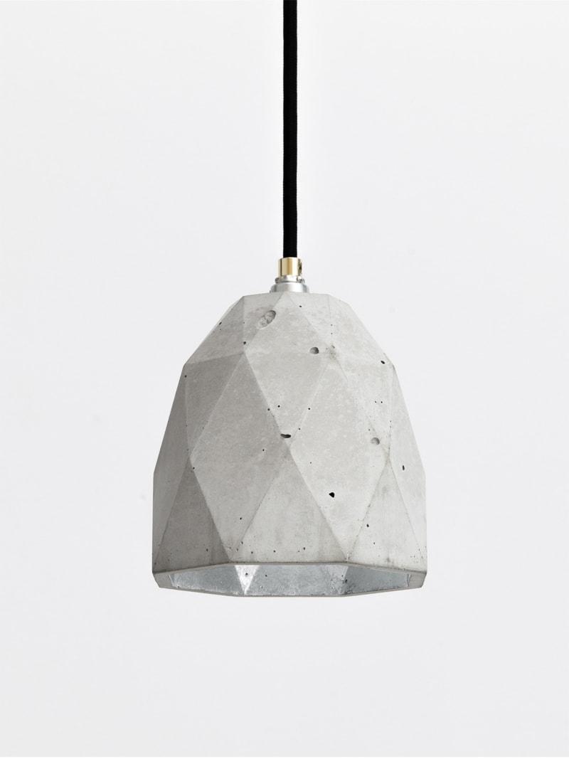 t1 haengelampe trianguliert beton silber 13