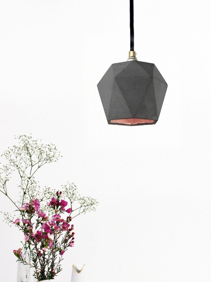t2dark haengelampe trianguliert beton kupfer 08