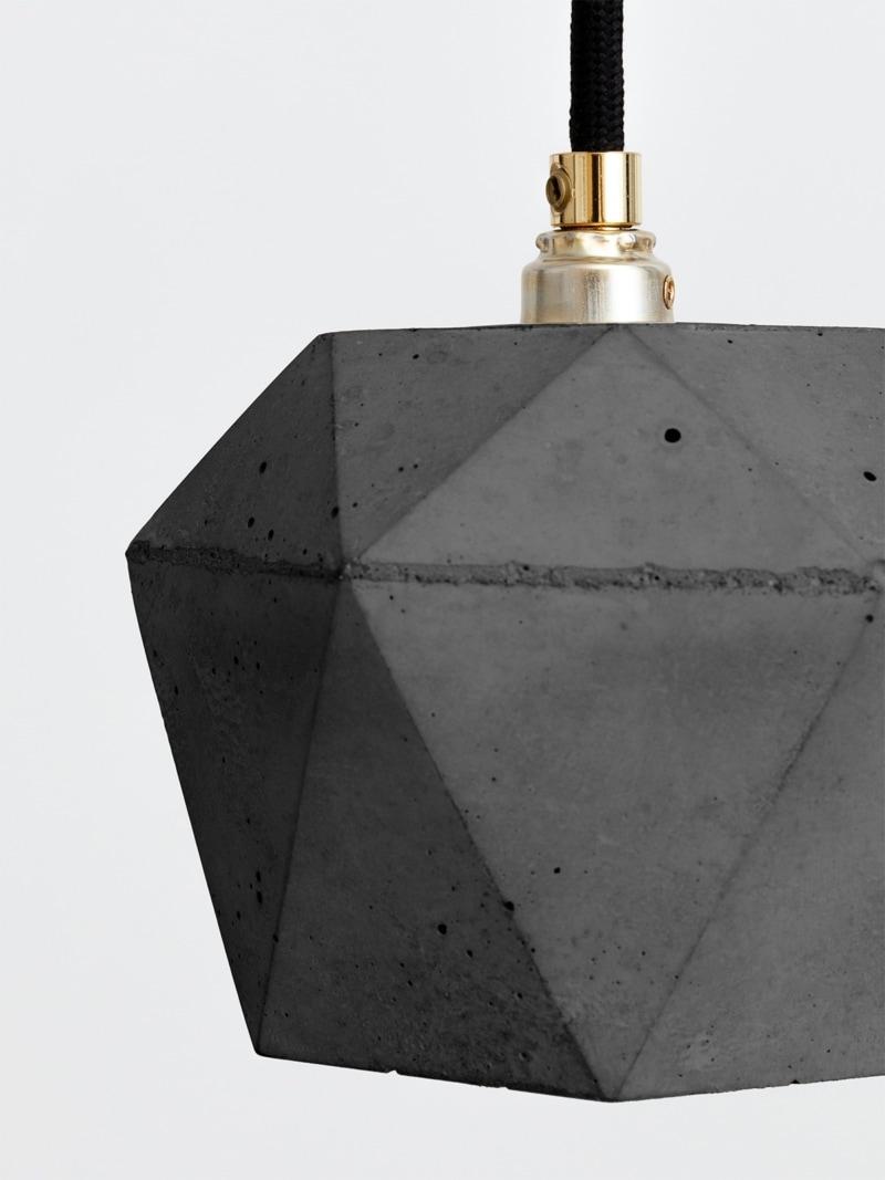 t2set dark haengelampe lampenbuendel trianguliert beton 04