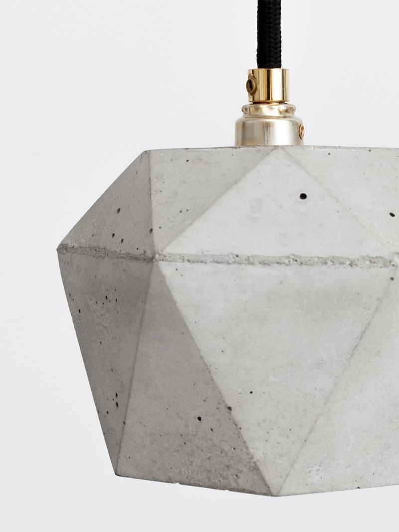 t2set haengelampe lampenbuendel trianguliert beton 04