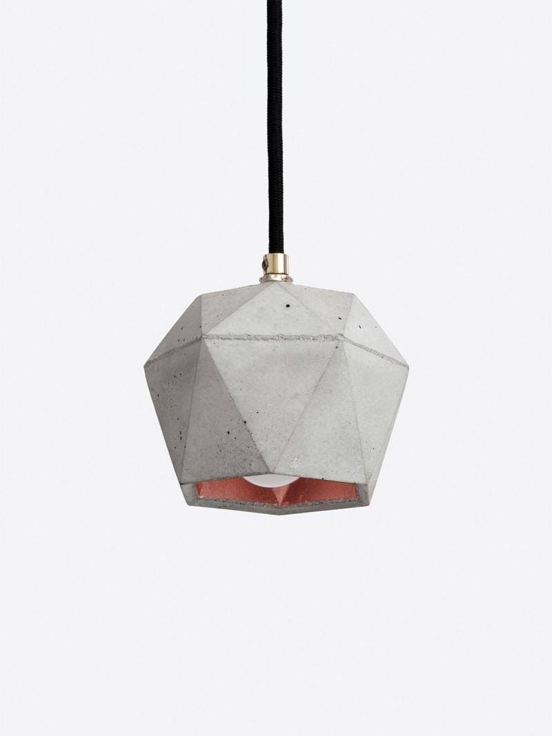 t2set haengelampe lampenbuendel trianguliert beton kupfer 11
