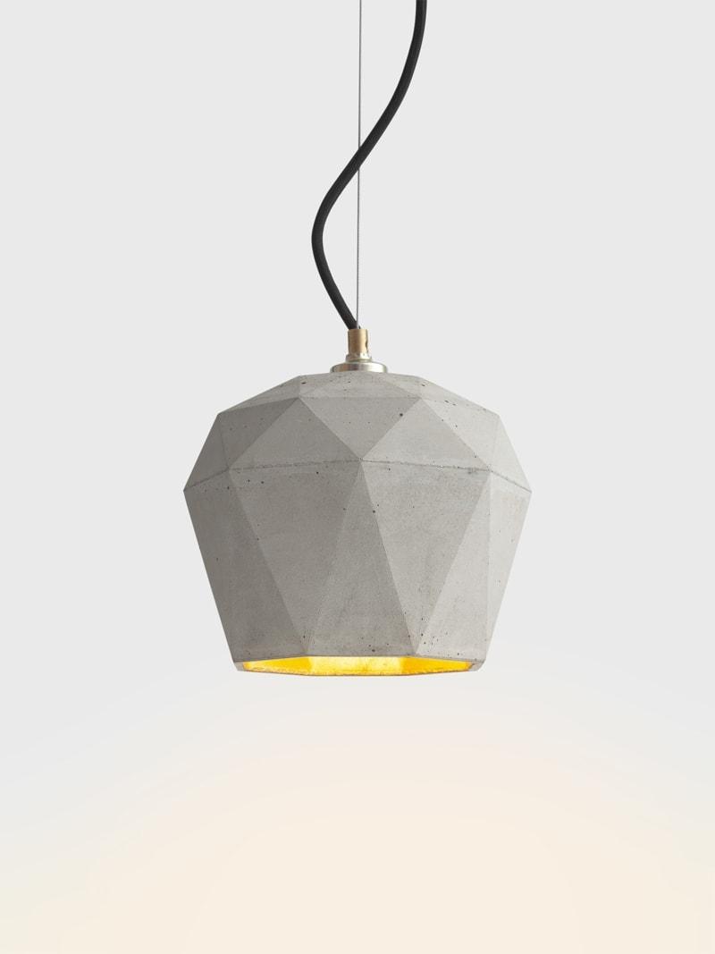 t3 haengelampe trianguliert beton gold 06