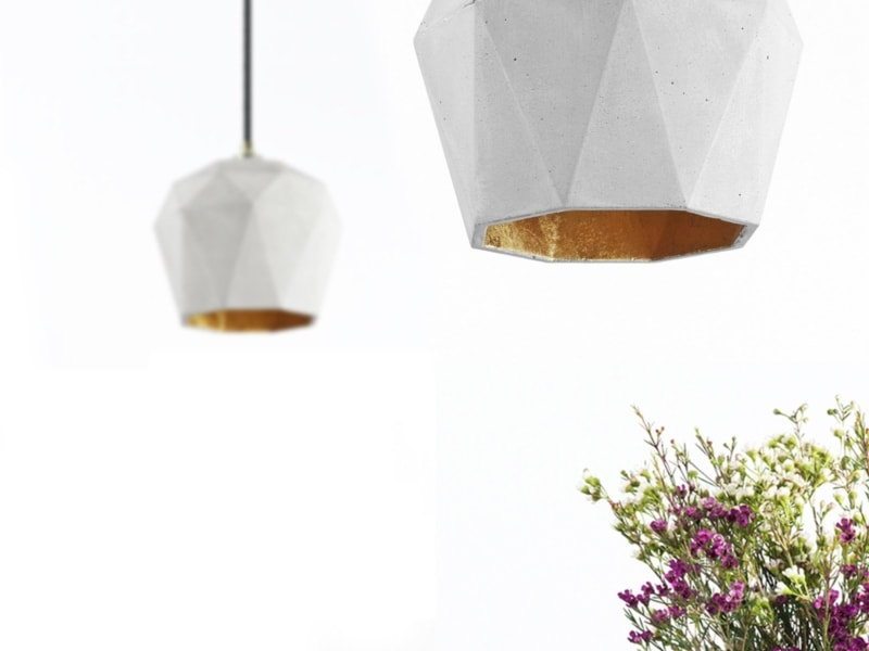 t3 haengelampe trianguliert beton gold 11
