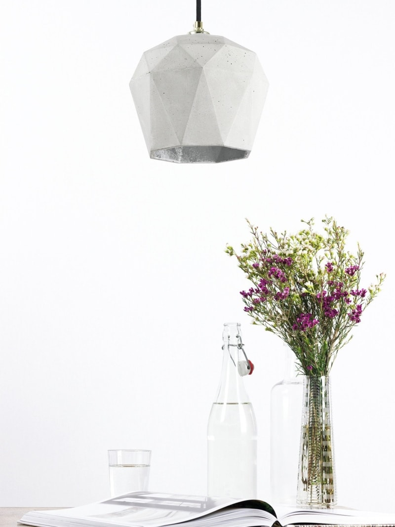 t3 haengelampe trianguliert beton silber 16