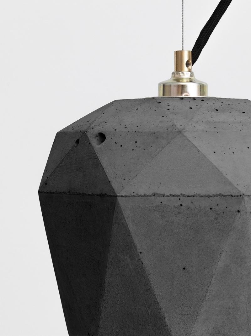 t3dark haengelampe trianguliert beton 03