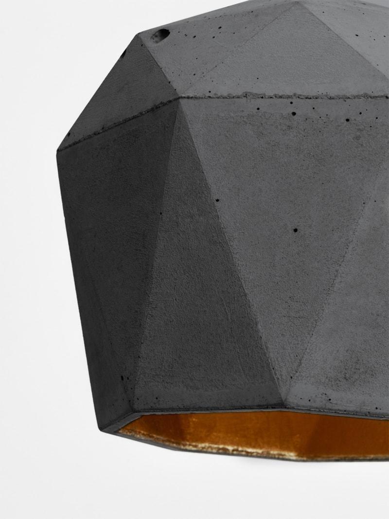 t3dark haengelampe trianguliert beton gold 04
