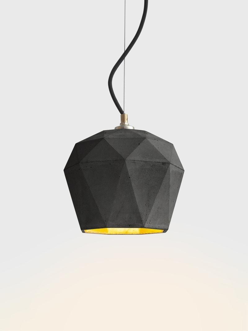 t3dark haengelampe trianguliert beton gold 06