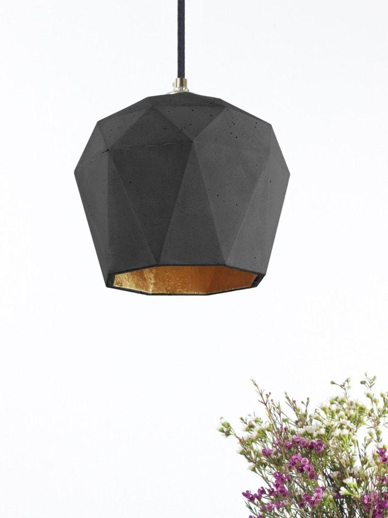 t3dark haengelampe trianguliert beton gold 10