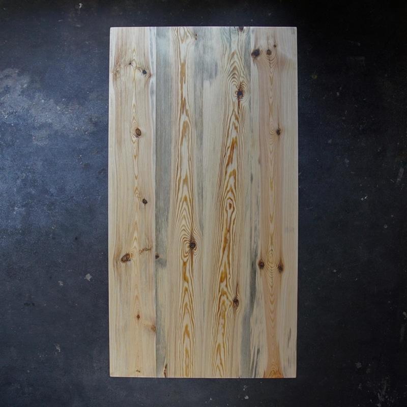 esstisch gerade kiefer massivholz stahl braun schwarz weiss woodboom 02