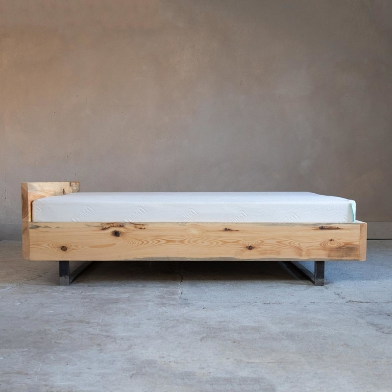 woodboom kufen bett kiefer braun 02