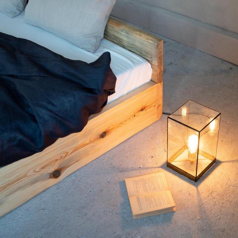 woodboom stehend bett kiefer braun 05
