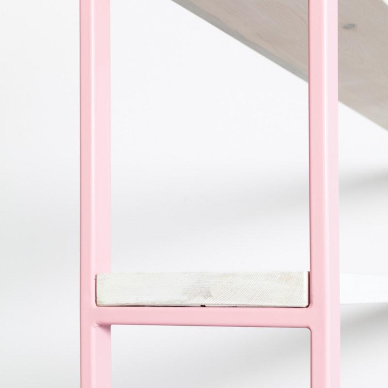 04 susteren regal hellrosa rosa bauholz stahl aufbewahrung johanenlies