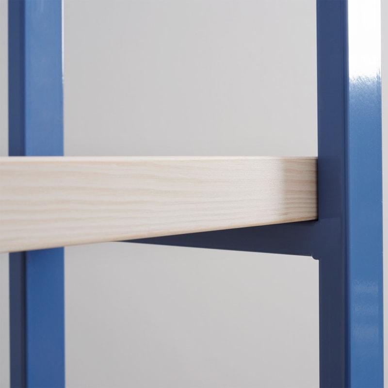 04 susteren regal taubenblau blau bauholz stahl aufbewahrung johanenlies