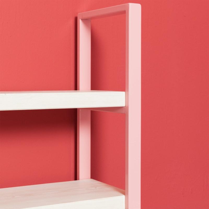 06 susteren mini regal hellrosa rosa bauholz stahl aufbewahrung johanenlies
