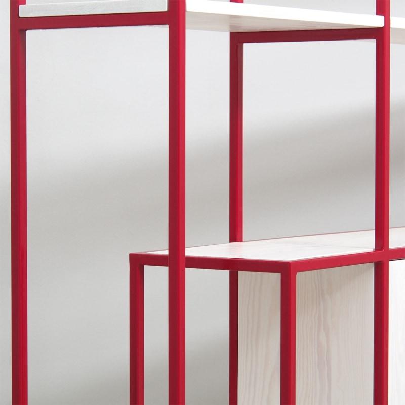 24 celeste regal rubinrot rot bauholz stahl marmor travertin aufbewahrung johanenlies