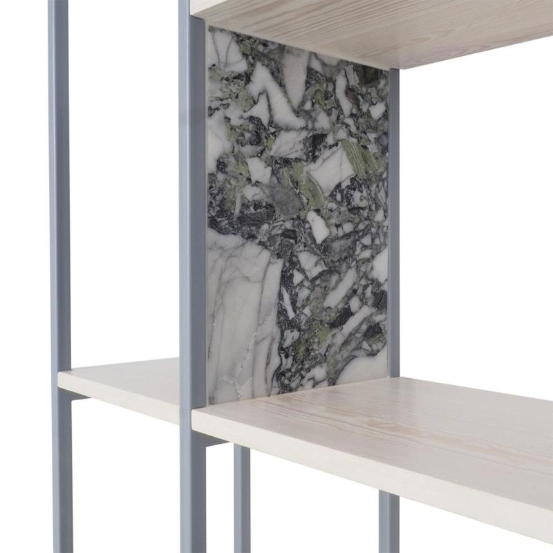 27 celeste regal silbergrau grau bauholz stahl marmor travertin aufbewahrung johanenlies