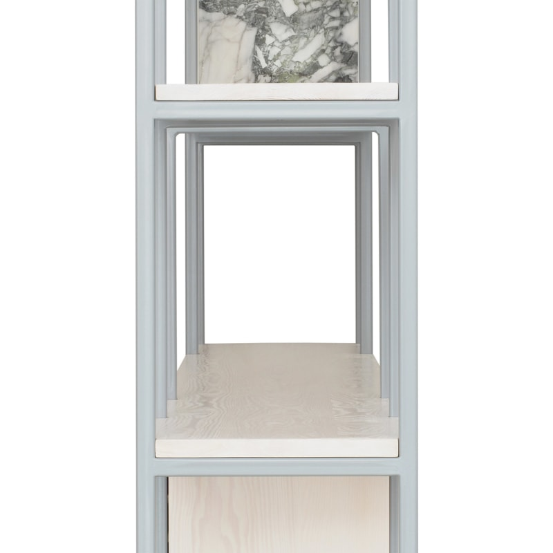 28 celeste regal silbergrau grau bauholz stahl marmor travertin aufbewahrung johanenlies