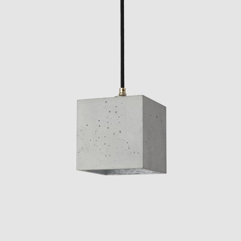 haengelampe b1 beton silber lampe licht gantlights