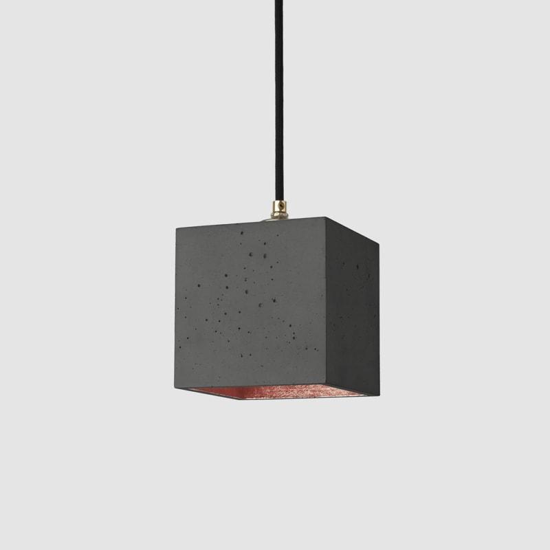 haengelampe b1dark beton kupfer lampe licht gantlights