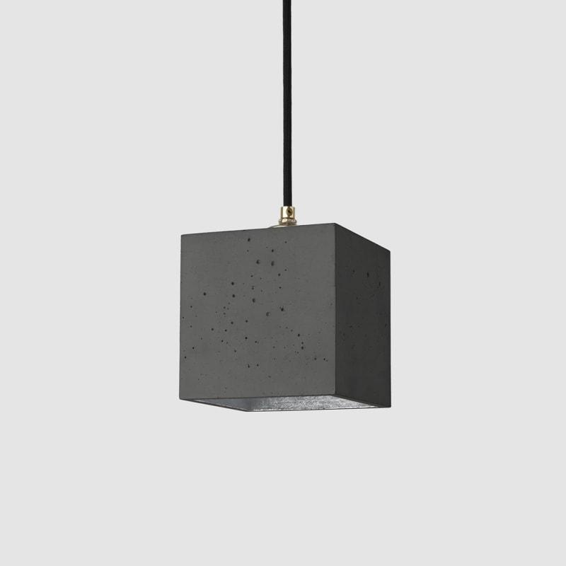 haengelampe b1dark beton silber lampe licht gantlights