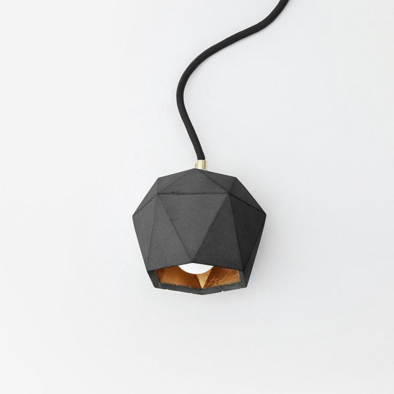 stehlampe t2updark beton gold lampe licht gantlights