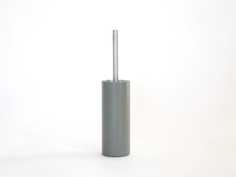 01 fire klobuerste halter mossgrau grau aluminium werkvoll