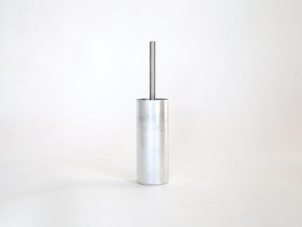 01 fire klobuerste halter silber aluminium werkvoll