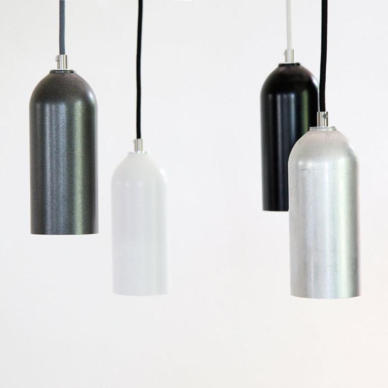 01 firelight haengelampe lampe licht anthrazit grau silber weiss schwarz aluminum werkvoll