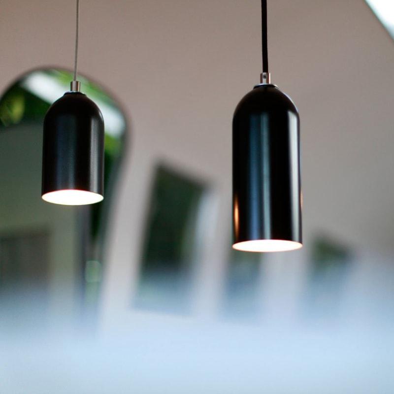 01 firelight haengelampe lampe licht schwarz aluminum werkvoll