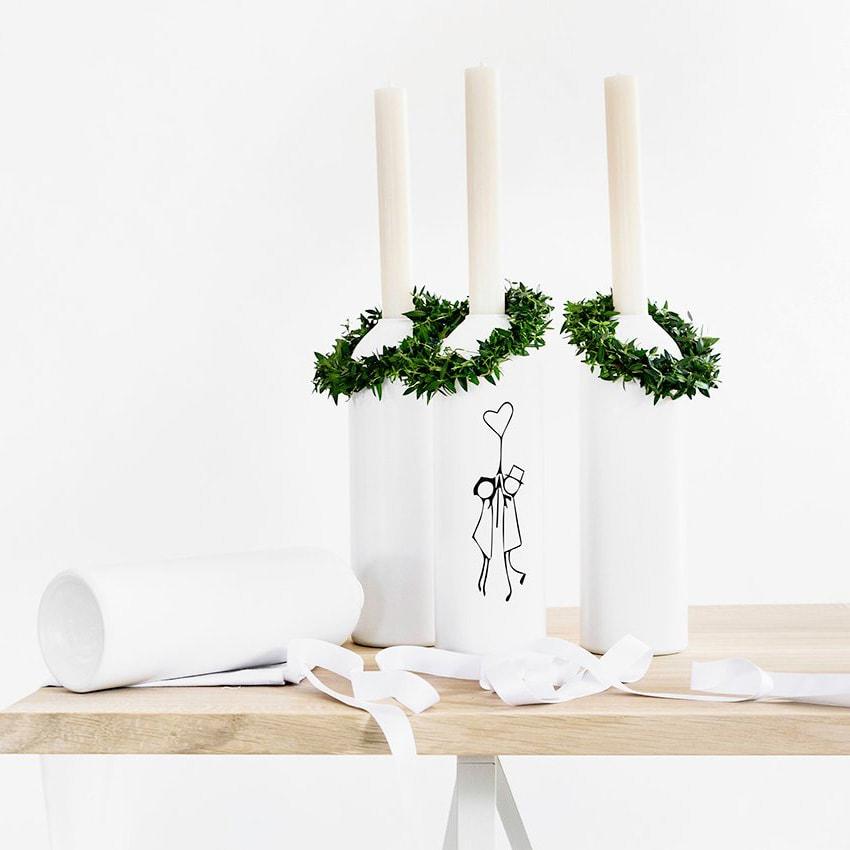 01 kerzenhalter vase aluminium weiss werkvoll