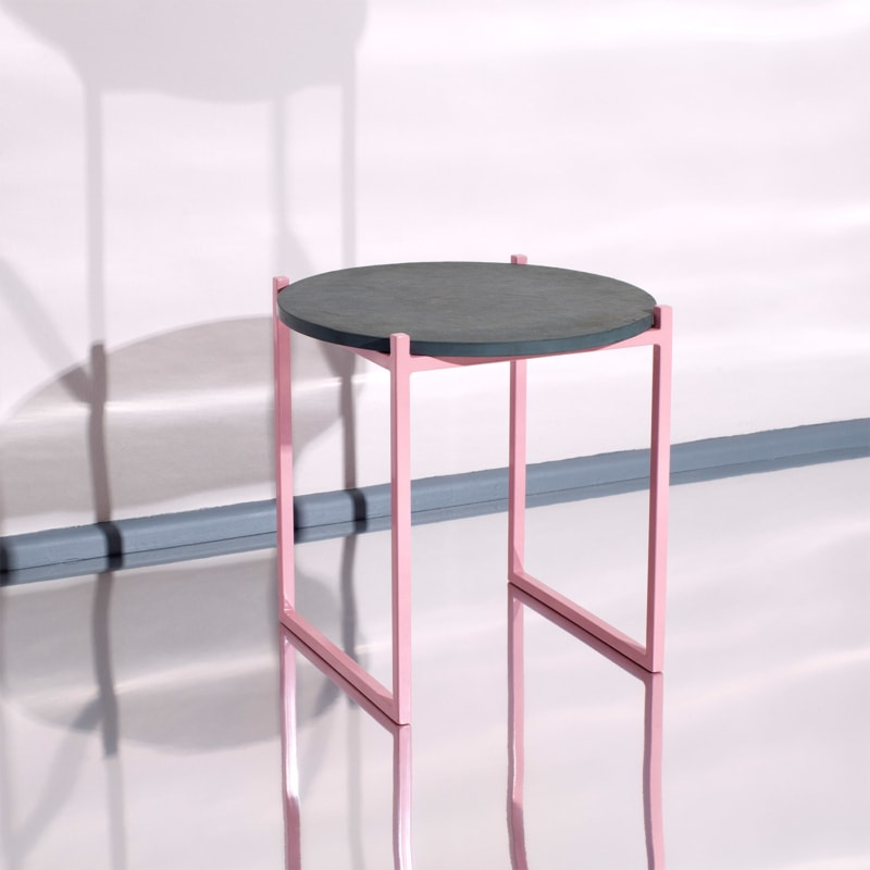 01 lulu beistelltisch schiefer grau stahl rosa