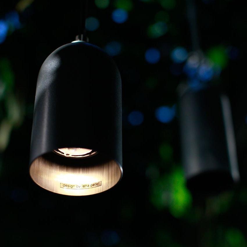 02 firelight haengelampe lampe licht schwarz aluminum werkvoll