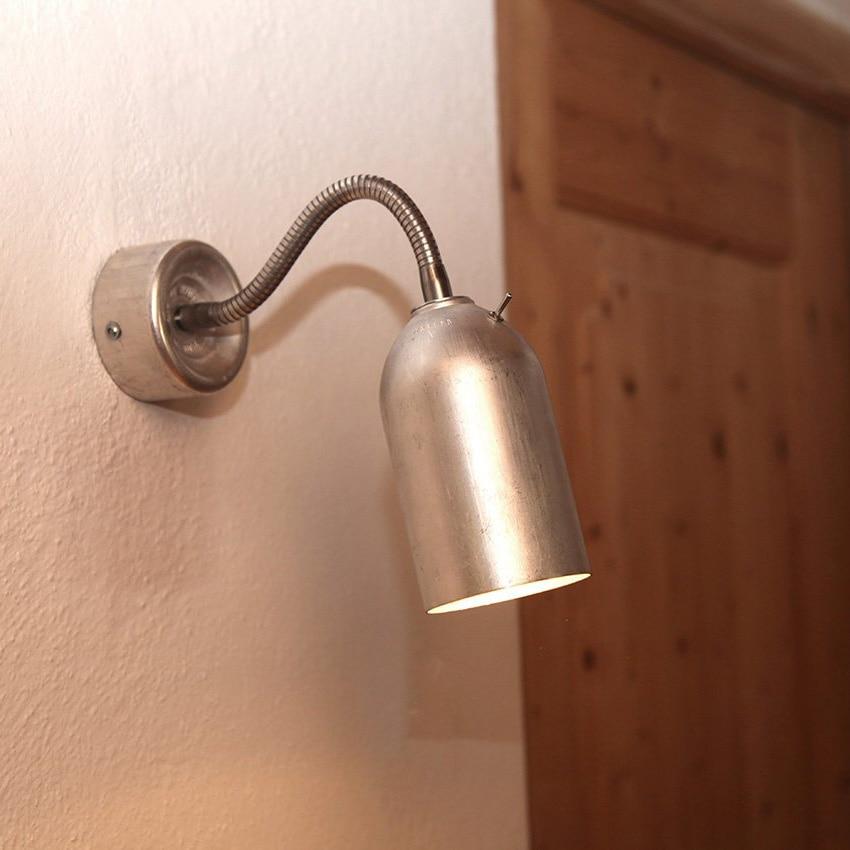 02 firelight wandleuchte lampe aluminum silber licht werkvoll