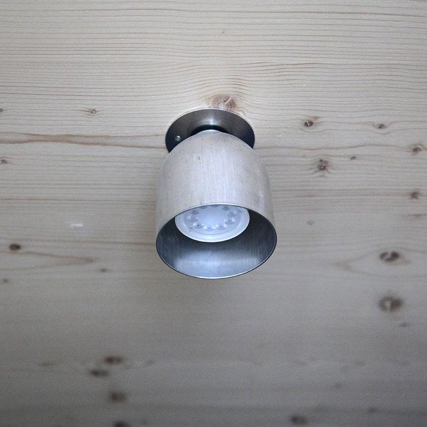03 firelight deckenleuchte lampe licht aluminium silber werkvoll