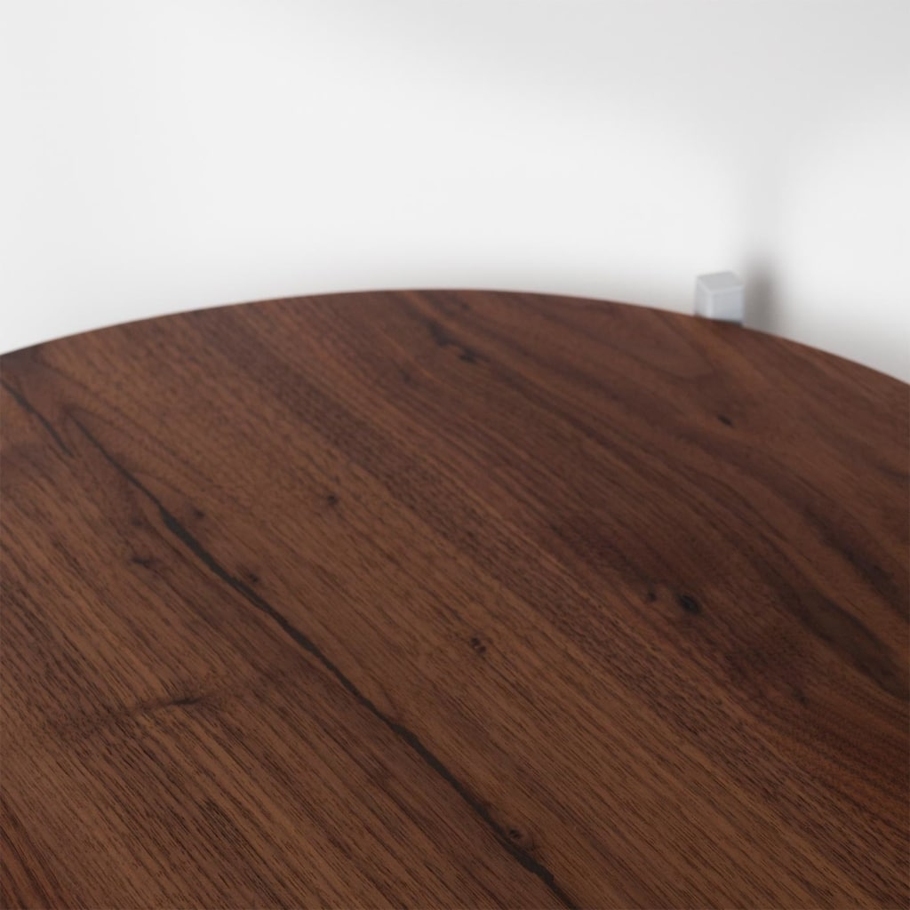 03 lulu beistelltisch nussbaum altholz holz stahl telegrau grau