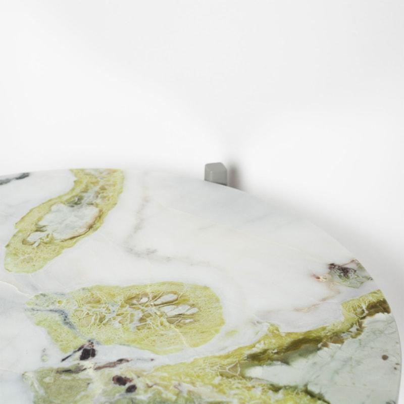 03 lulu lotus green beistelltisch marmor lotusgruen gruen stahl steingrau grau