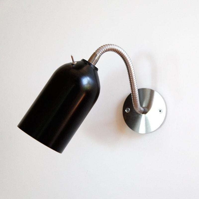 04 firelight wandleuchte lampe aluminum schwarz licht werkvoll